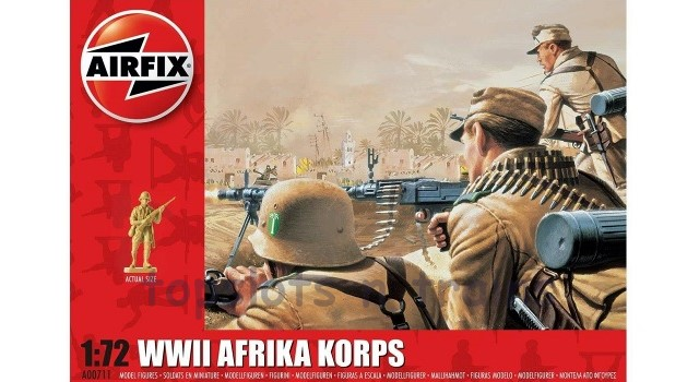 Airfix A00711 WW2 Afrika Korps Soldiers 1/72 at TopSlots n