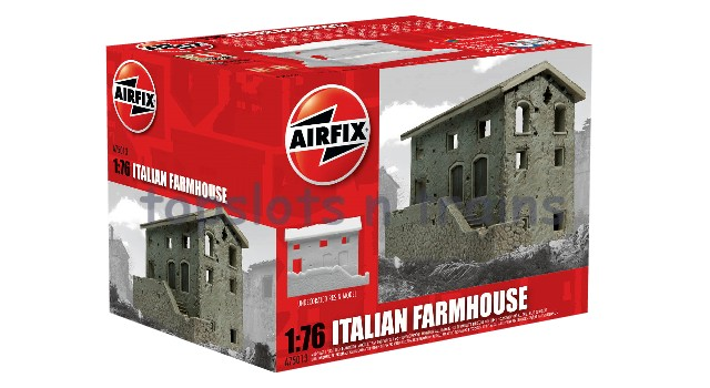 Airfix A75013 1/76 Scale Resin Model - ITALIAN FARMHOUSE - RUIN