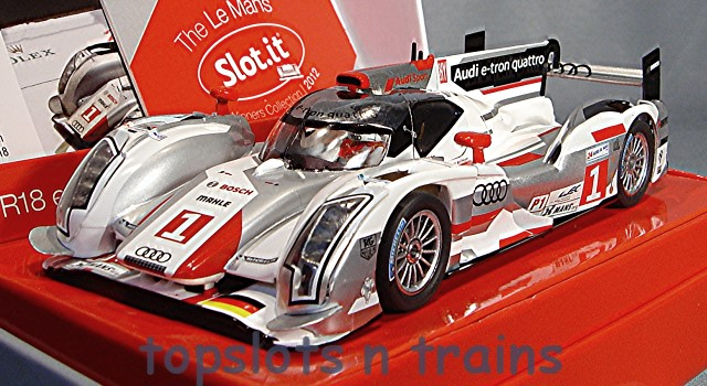 Slot.It SI-CW14 Limited Edition - AUDI R18 E-TRON QUATTRO LE MANS WINNERS LTD