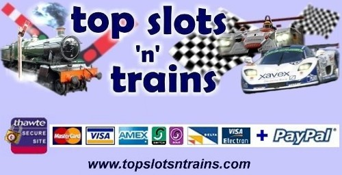 top slots and trains