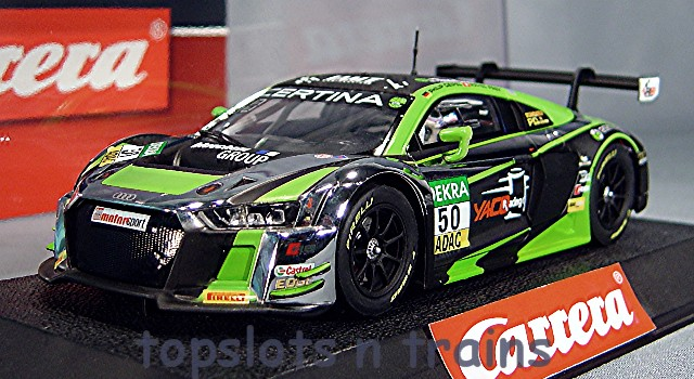 Carrera Audi R8 LMS Yaco Racing Slot Cars 27546 at TopSlots