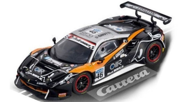 Carrera Ferrari 488 GT3 30808 Black Bull Digital Slot Cars
