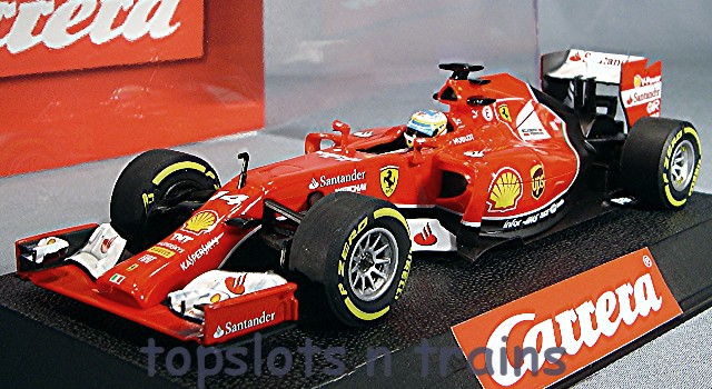 Carrera F1 Ferrari F14-T Alonso 30734 Digital Slot Cars at
