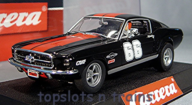 carrera ford mustang gt usa ltd slot cars 27553 at topslots. Black Bedroom Furniture Sets. Home Design Ideas