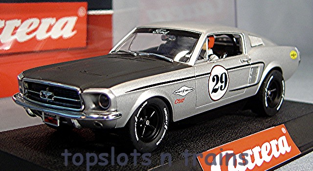 carrera ford mustang gt usa ltd slot cars 27554 at topslots. Black Bedroom Furniture Sets. Home Design Ideas