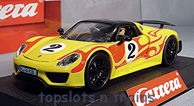 Carrera CA-27599 - PORSCHE 918 SPYDER HIPPY CAR NO 2