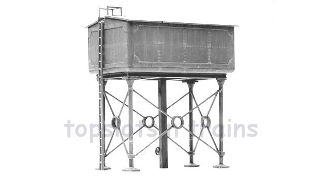 Model Water Tower Model Kit c5 Water Tower