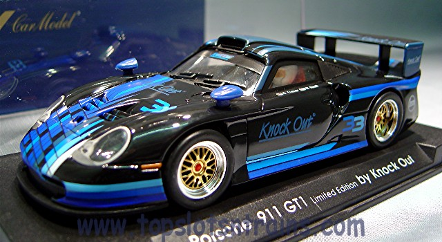 topslots n trains fly slot cars fly e 52 porsche 911 gt1 evo. Black Bedroom Furniture Sets. Home Design Ideas