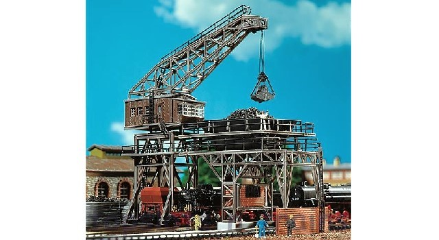 Faller Coaling Station with Gantry Crane 222137 N Scale at