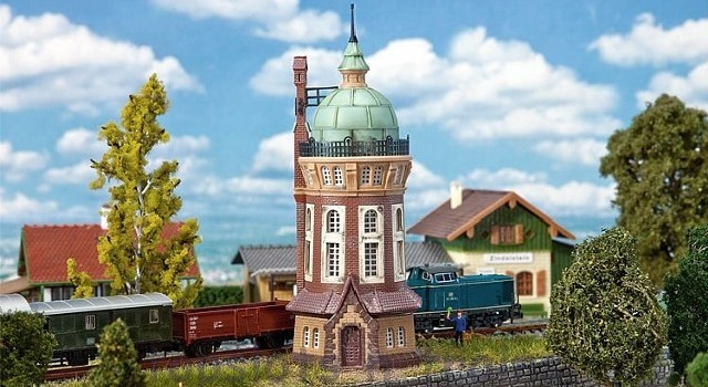 Faller 222144 N Scale Model Kit - BIELEFELD WATER TOWER