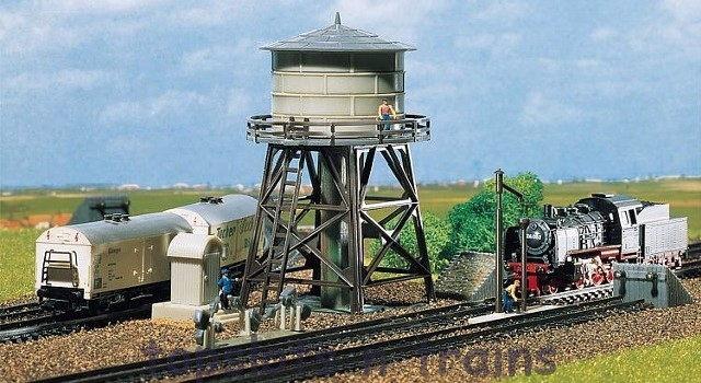 Faller 222150 N Scale Model Kit - WATER TOWER - WITH ACCESSORIES I