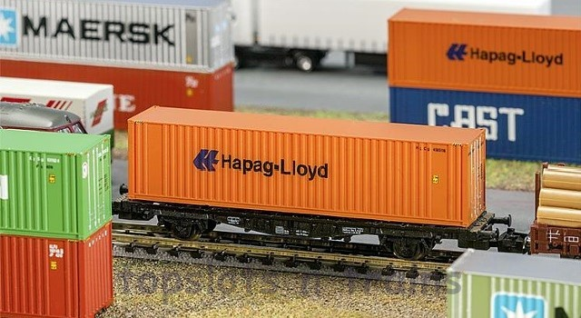 Faller 272842 40ft Shipping Container Hapag Lloyd N Scale at TopSlots