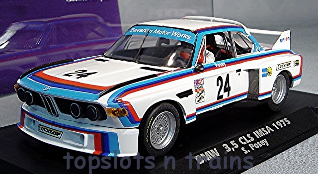 Fly-Car-Model A2001 - BMW 3.5 CSL IMSA 1975 SAM POSEY