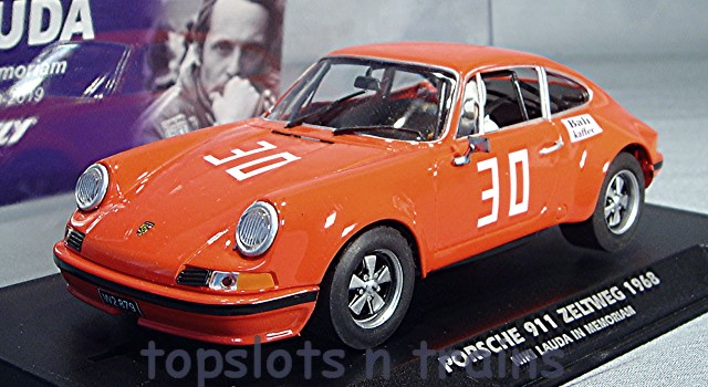 Fly-Car-Model E2004 - PORSCHE 911 ZELTWEG 1968 NIKI LAUDA LTD