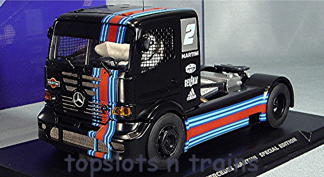 FlySlot Trucks 202312 Ltd - MERCEDES BENZ MARTINI RACE TRUCK