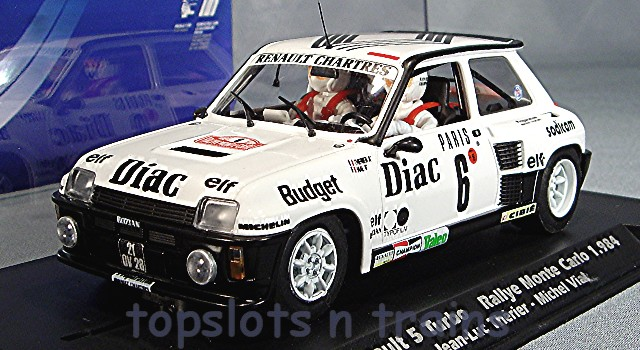 Fly Slot 037102 - RENAULT 5 TURBO RALLY MONTE CARLO 1984 THERIER