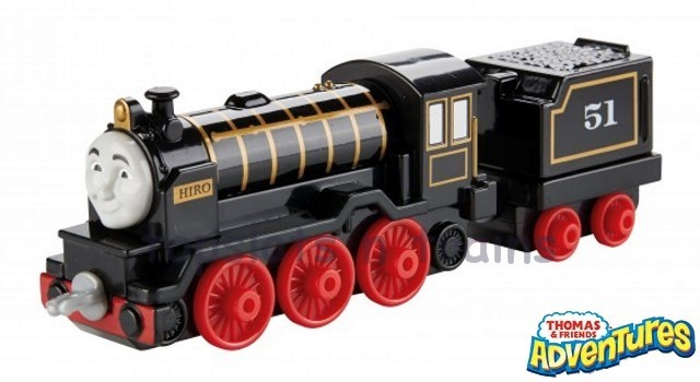 Thomas Adventures DXR71 - HIRO - THE WISE JAPANESE ENGINE