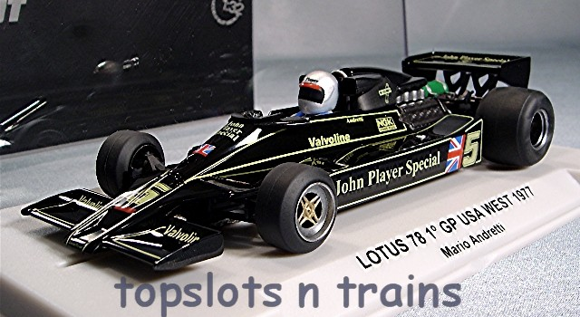 Fly  Slot  F27101 - LOTUS 78 GP USA WEST 1977 ANDRETTI