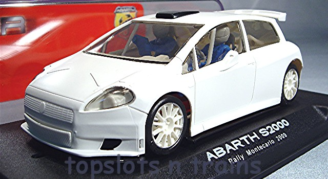 Nsr 1043-IL - FIAT ABARTH S2000 RTR KIT CAR INLINE