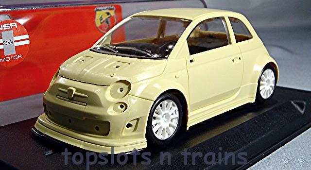 Nsr 1051 C Fiat Abarth 500 New Rtr Slot Car Kits At Topslots N Trains