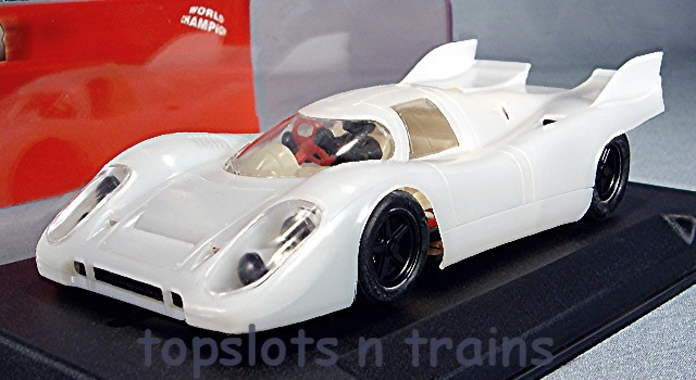 Nsr 1132-SW-W SIDEWINDER - PORSCHE 917K DOUBLE FIN SLOT CAR KIT WHITE