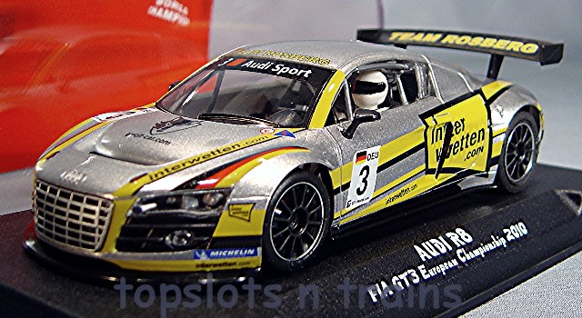 audi r8 lms nsr 0007 fia gt3 2010 slot cars at topslots. Black Bedroom Furniture Sets. Home Design Ideas