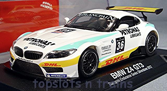 Nsr Bmw Z4 E89 Gt3 0045 Aw Silverstone 2012 Slot Cars At Topslots