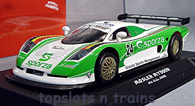 Nsr-0080-AW-TRIANG - MOSLER MT900R GT EVO5 GRAVITY RACING 24HRS ZOLDER