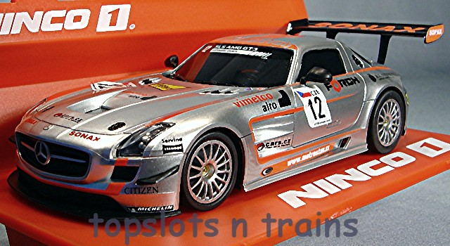 Sonax Amg Mercedes Clrp Lmp1: Mercedes SLS GT3 Ninco 1 55074 New Slot Cars At TopSlots N
