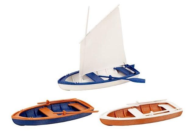 Pola 333150 Rowing / Sailing Boats G Scale at TopSlots n Trains