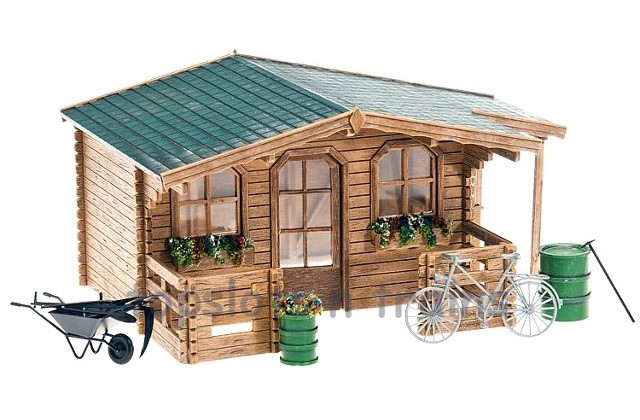 G Scale Garden Shed Log Cabin Style Pola 331050 At