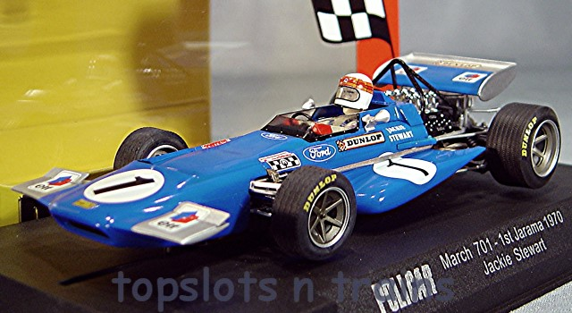 Slot.It Policar SI-CAR04B - MARCH 701 F1/GP 1ST 1970 JARAMA JACKIE STEWART