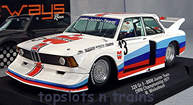 Racer Sideways SW58A - BMW 320 GROUP 5 TURBO 1978 MANFRED WINKELHOCK