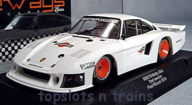 Porsche 935 Racer Sw19 Group 5 Test Slot Cars At Topslots N Trains