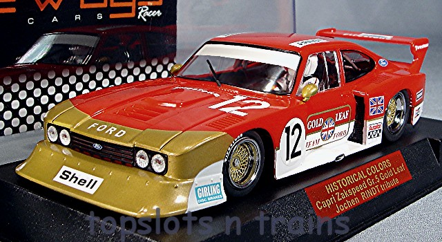 Racer Sideways SW-HC02 Limited Edition - ZAKSPEED CAPRI GOLD LEAF HISTORIC EDITION