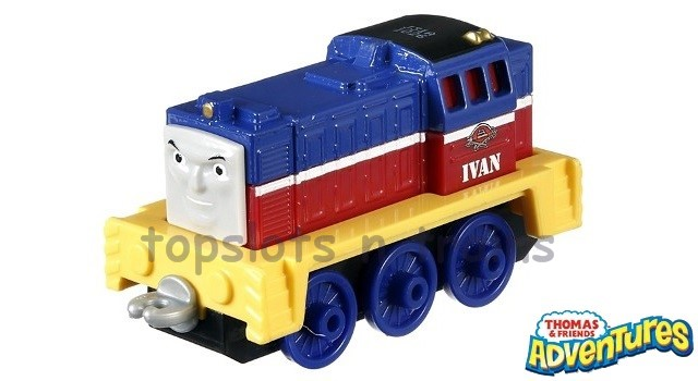Thomas Adventures FBC36 - RACING IVAN - RUSSIAN DIESEL SHUNTING ENGINE