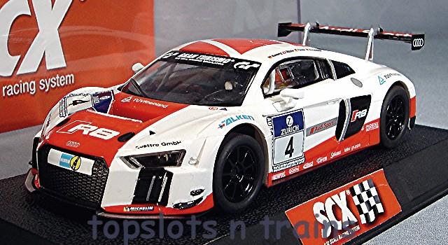 Audi R LMS Ultra SCX A Le Mans Slot Cars At TopSlots - Audi r8 race car for sale