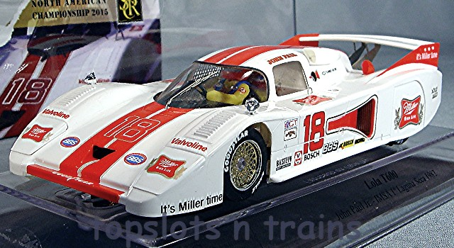 Slot Racing Company SRC 01712 - LOLA T600 LAGUNA SECA 1982 JOHN PAUL JNR USA LTD