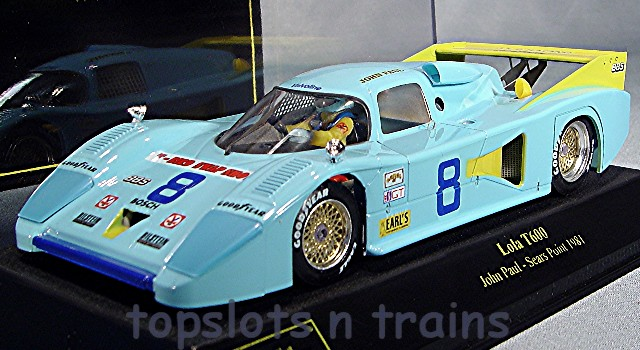 Slot Racing Company SRC 01710 - LOLA T600 3HR SEARS POINT 1981 JOHN PAUL JR