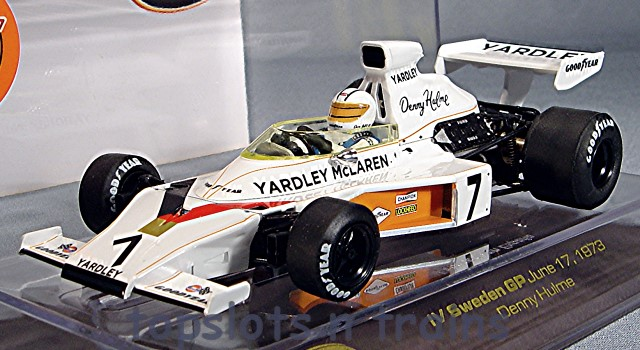 Slot Racing Company SRC 02301 - YARDLEY MCLAREN M23 1973 F1 GP DENNY HULME LTD