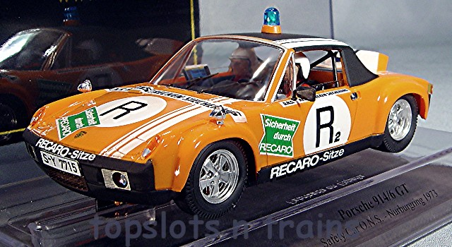 Slot Racing Company SRC 01605 - PORSCHE 914/6 GT NURBURGRING 1973 SAFETY CAR OMS