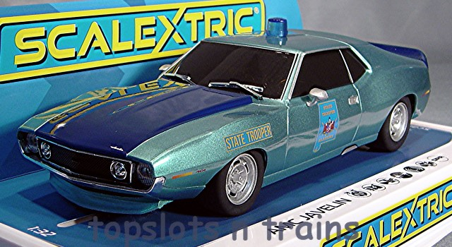 Scalextric C4058 - AMC JAVELIN ALABAMA STATE TROOPER POLICE CAR
