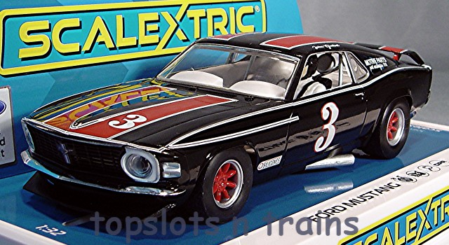 Scalextric C4014 - FORD MUSTANG TRANS AM 1972 JOHN GIMBEL