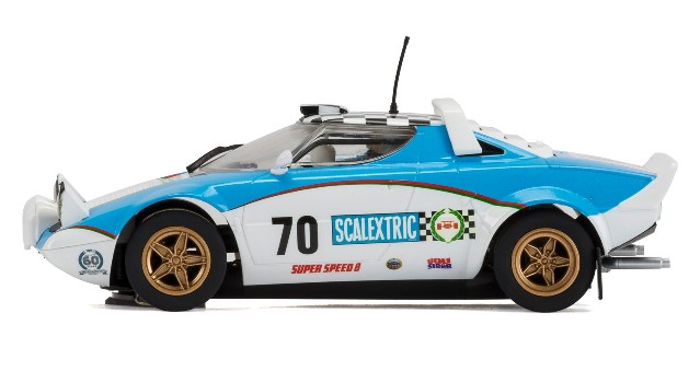 Scalextric C3827A Limited Edition - LANCIA STRATOS HF ANNIVERSARY CAR 1970s
