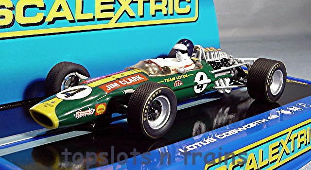 Scalextric C3206 - LOTUS 49 JIM CLARK WINNER KYALAMI 1968