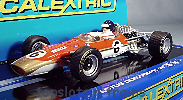 Scalextric C3311 - LOTUS COSWORTH 49 JIM CLARK GOLD LEAF