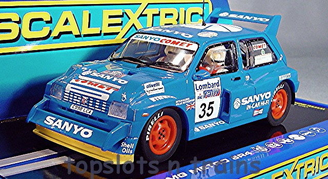 Scalextric C3639 High Spec Detailed -  MG METRO 6R4 RAC RALLY 1986 RUTHERFORD