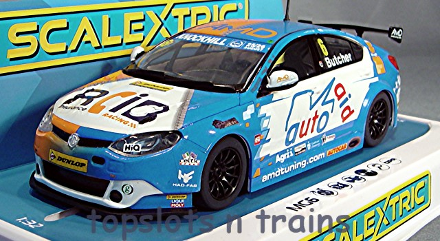 Scalextric C4017 - MG6 GT AMD BTCC 2018 RORY BUTCHER
