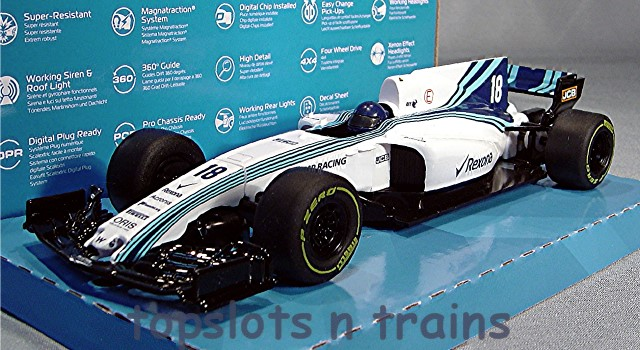 Scalextric C4021 - WILLIAMS MERCEDES FW41 F1 2018