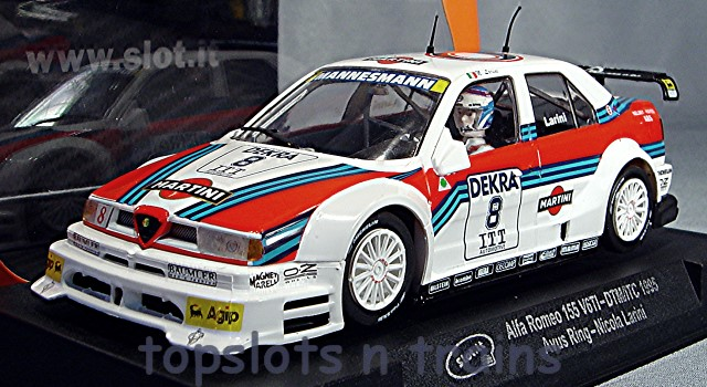 Slot.It SI-CA40A - ALFA ROMEO 155 V6 DTM ITC MARTINI AVUS RING 1995